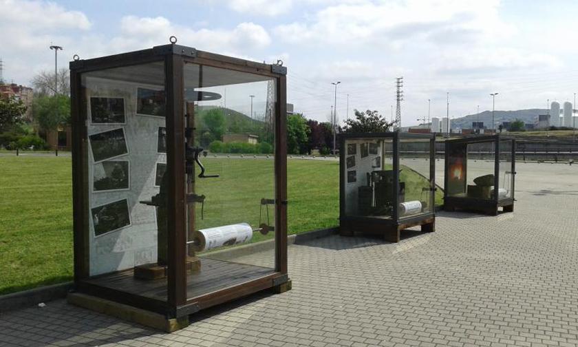 elgoibar museoko makinak bienalean bilbo