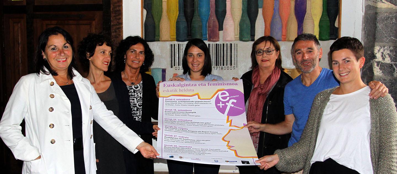 euskalgintza feminismo sustatzaileak elgoibar izarra