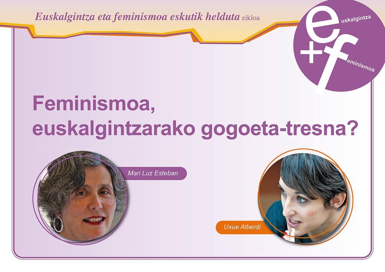feminismo euskalgintza elgoibar izarra 1saioa kartela