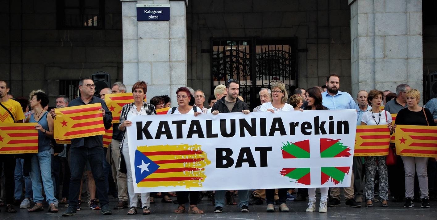 elkarretaratzea elgoibar katalunia elkartasuna